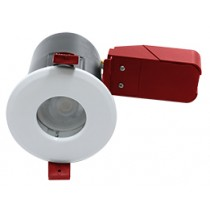 Ignis Plus Fire Rated Downlight GU10 IP65 White