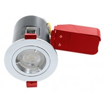 Ignis Plus Fire Rated Downlight GU10 Fixed Chrome