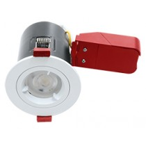 Ignis Plus Fire Rated Downlight GU10 Fixed White