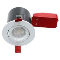 Ignis Plus Fire Rated Downlight GU10 Tilt White
