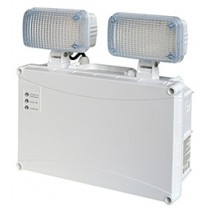 Emergency Twin Spot - 490lm - LED IP65 - 3 Hour