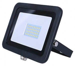 20w SMD AC Floodlight - 3100k - Black
