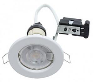 Hoop Downlight Steel GU10 Fixed White