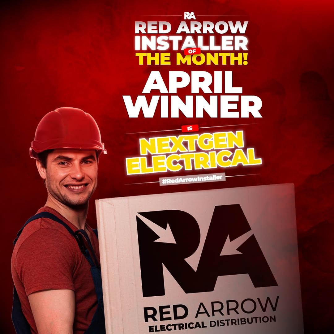 Red Arrow Installer April Winner