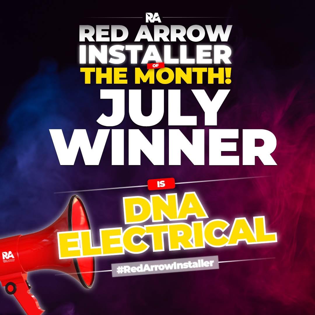 Red Arrow Installer July Winner
