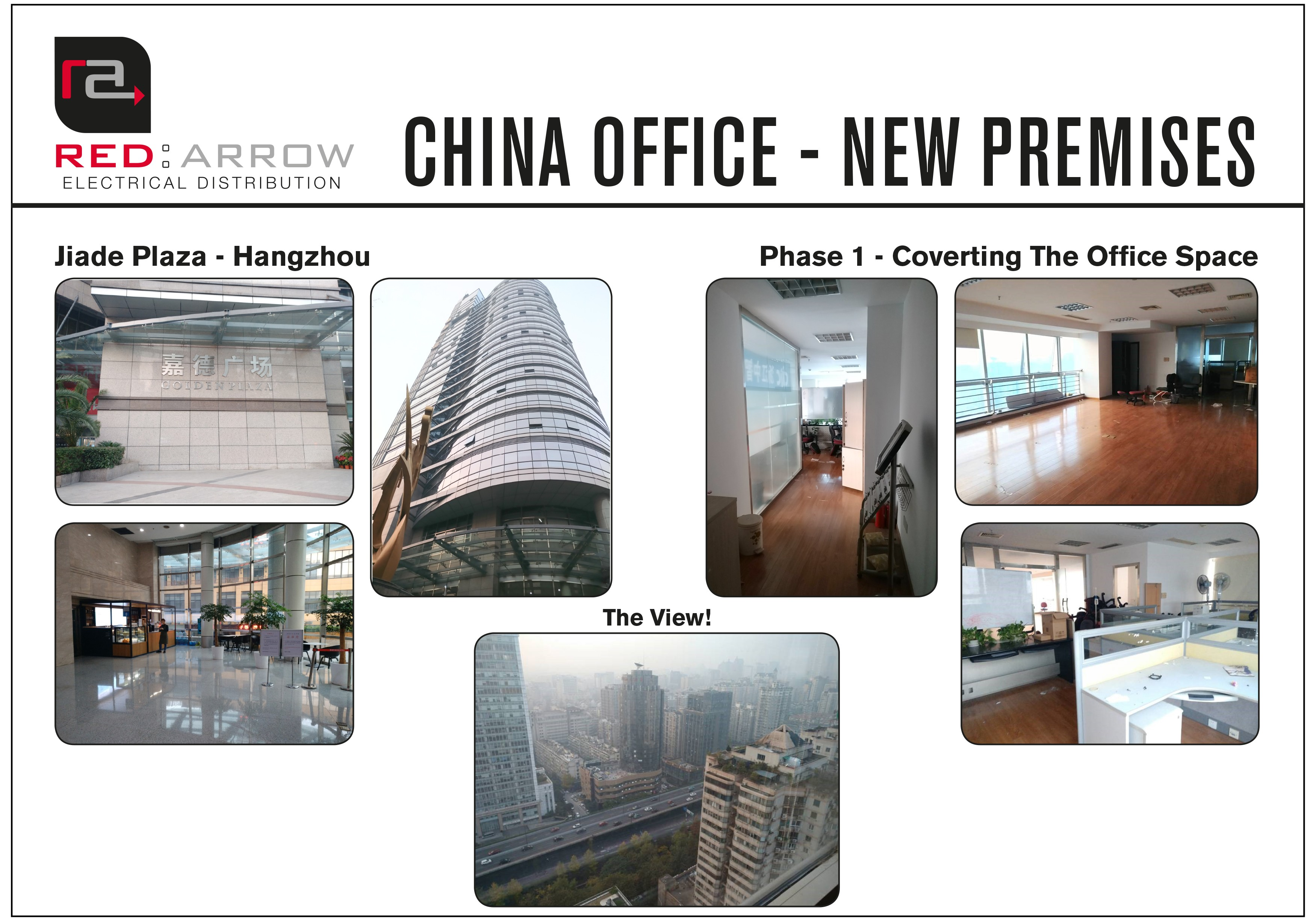 New Premises for the Red Arrow China Office