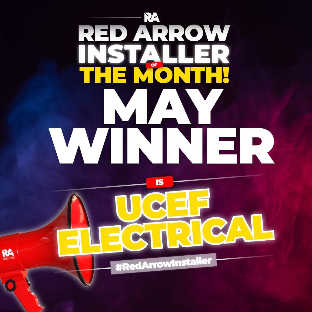 Red Arrow Installer May Winner
