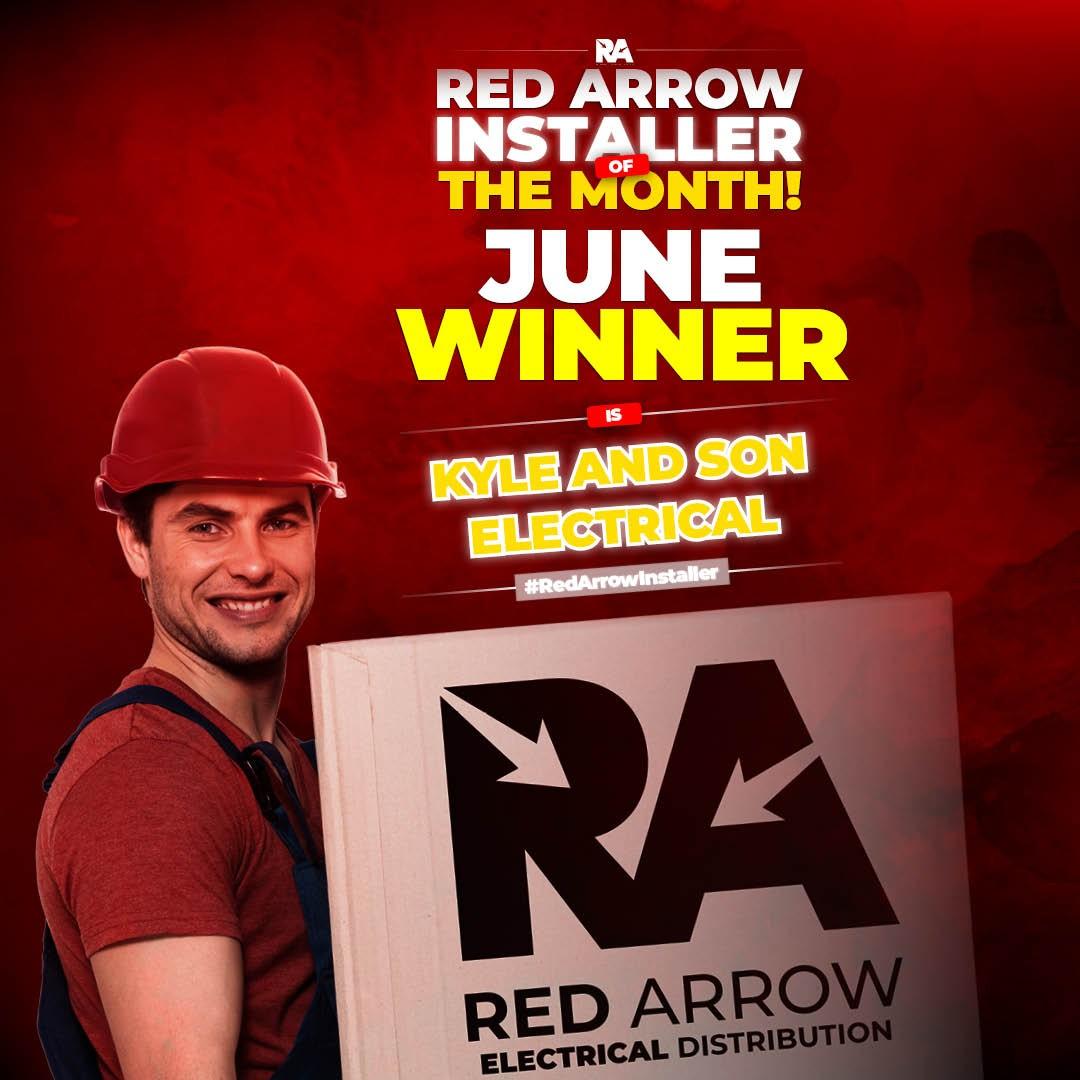 Red Arrow Installer June Winner