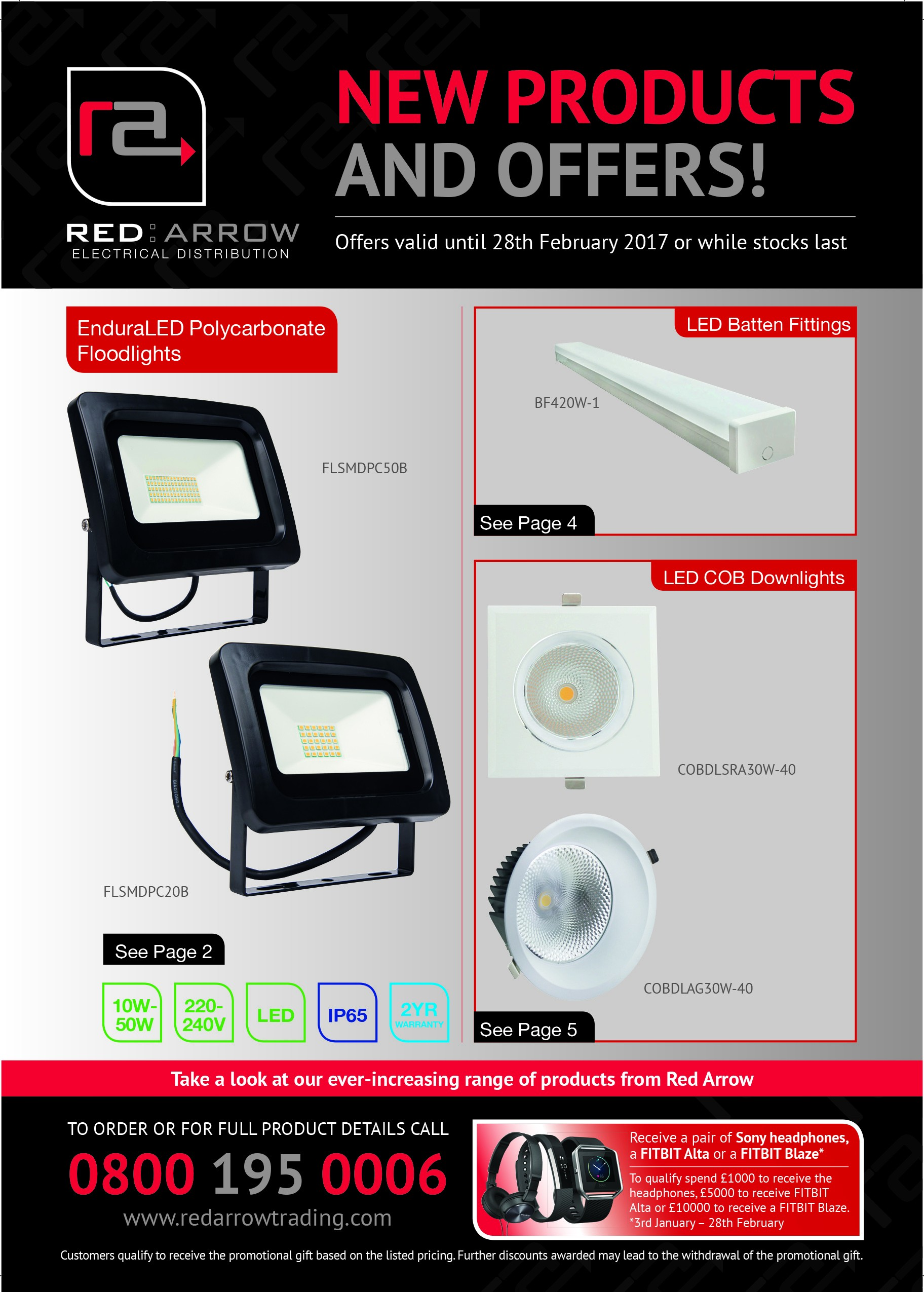 NEW PRODUCTS AND OFFERS MAILER - JANUARY & FEBRUARY